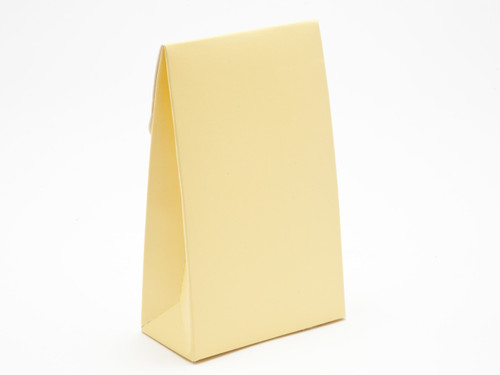 Small A-Frame Carton - Buttermilk Yellow | MeridianSP