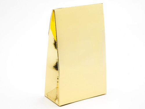 Small A-Frame Carton - Bright Gold | MeridianSP