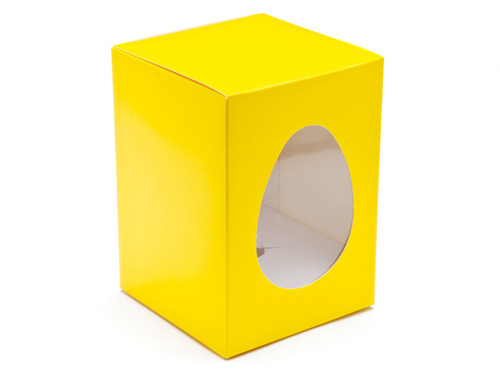 Small Easter Egg Carton and Plinth - Sunshine Yellow | MeridianSP