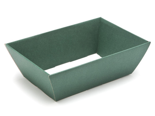 Small Card Hamper Tray - Deluxe Dark Green | MeridianSP