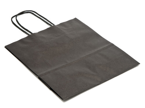 Small Paper Carrier Bag - Black | MeridianSP