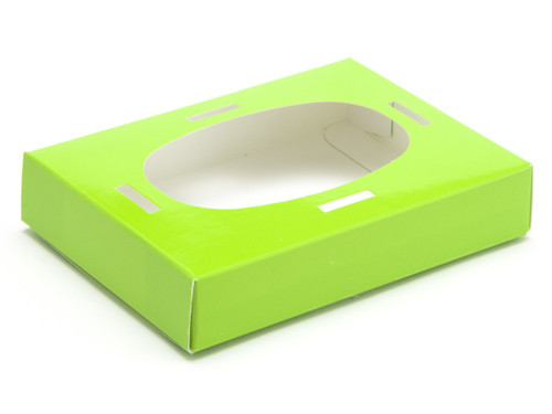 Small Easter Egg Easter Egg Plinth for Transparent Carton - Vibrant Green | MeridianSP