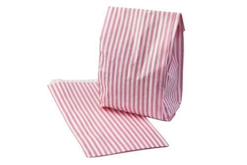 Candy Stripe Traditional Sweet Shop Paper Bag