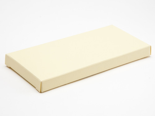 100g Off White Chocolate Bar Box Packaging