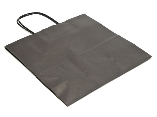 Medium Paper Carrier Bag - Black | MeridianSP