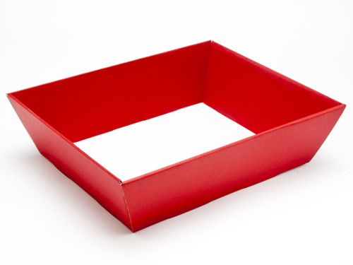 Medium Card Hamper Tray - Deluxe Red | MeridianSP