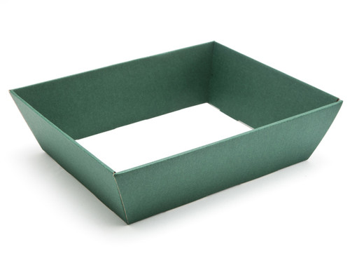 Medium Card Hamper Tray - Deluxe Dark Green | MeridianSP