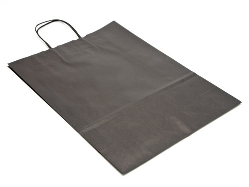 Large Paper Carrier Bag - Black | MeridianSP