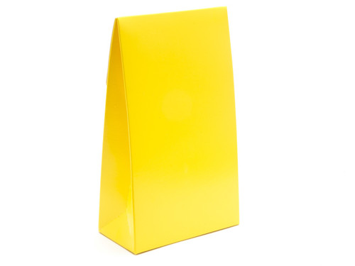 Large A-Frame Carton - Sunshine Yellow | MeridianSP