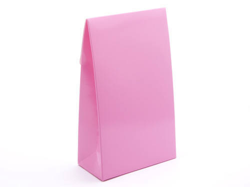 Large Tapered A Frame Gift Carton Electric Pink