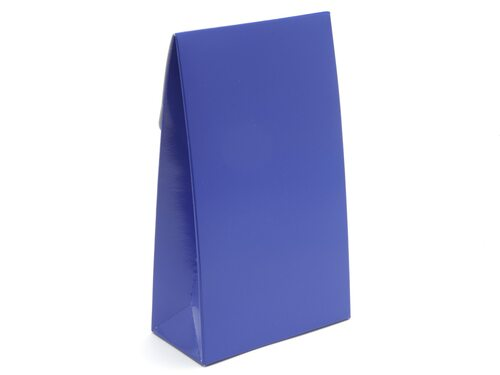 Large A-Frame Carton - Blue | MeridianSP