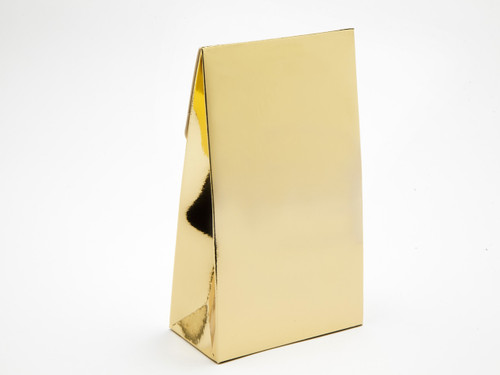 Large A-Frame Carton - Bright Gold | MeridianSP