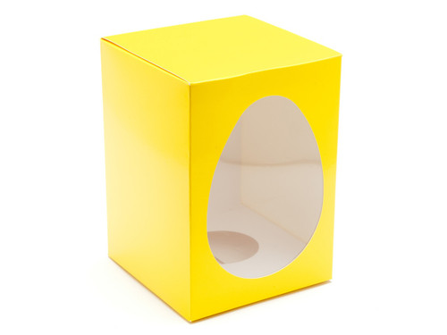 Large Easter Egg Carton and Plinth - Sunshine Yellow | MeridianSP