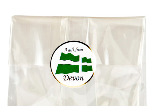 32mm Round Gift Label - A Gift from Devon - (250pcs)   MeridianSP