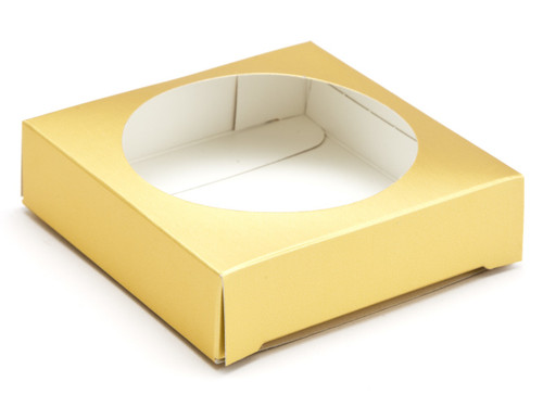 Extra Small Easter Egg Plinth - Matt Gold | MeridianSP