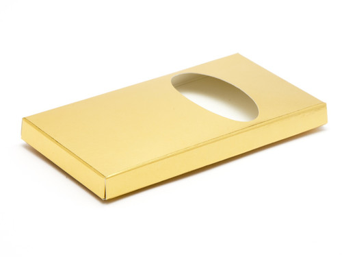 Choc Bar Carton (Wrap) - Bright Gold | MeridianSP