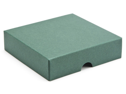 9 Choc Square Wibalin Lid - Green - [LID ONLY] | MeridianSP