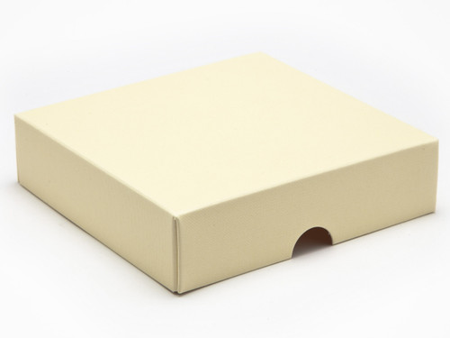 9 Choc Square Wibalin Lid - Cream - [LID ONLY] | MeridianSP
