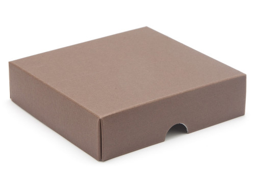9 Choc Square Wibalin Lid - Brown - [LID ONLY] | MeridianSP