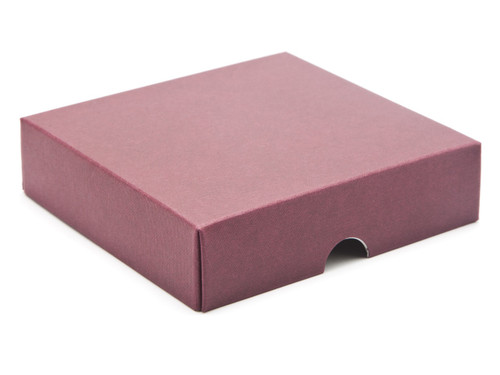 9 Choc Square Wibalin Lid - Burgundy - [LID ONLY] | MeridianSP