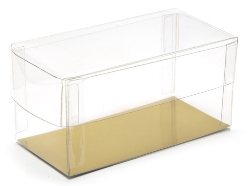 90x45x45 Rectangular Transparent Base and Lid - Clear | MeridianSP