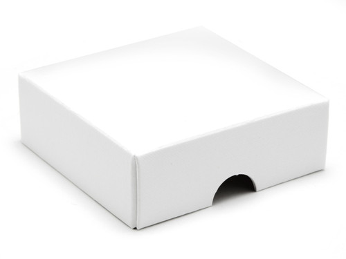 4 Choc Square Wibalin Lid - White [LID ONLY] | MeridianSP