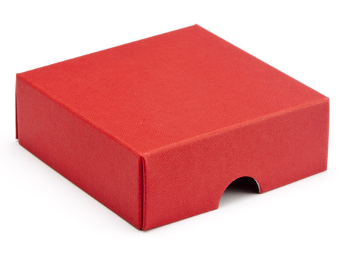 4 Choc Square Wibalin Lid - Red - [LID ONLY]   MeridianSP