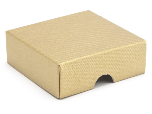 4 Choc Square Wibalin Lid - Gold - [LID ONLY] | MeridianSP