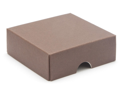 4 Choc Square Wibalin Lid - Brown - [LID ONLY] | MeridianSP