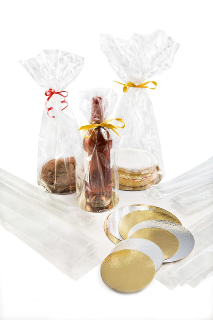 450x79 Double Gusseted Bag - Clear | MeridianSP