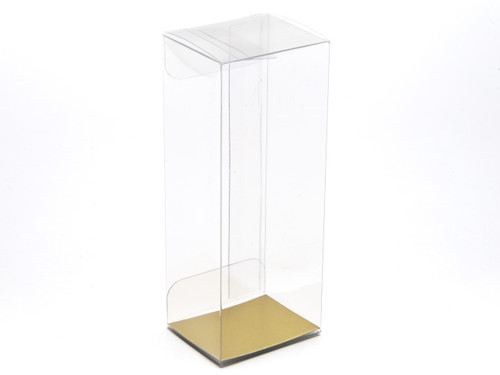 38x38x120 Rectangular Transparent Carton - Clear | MeridianSP