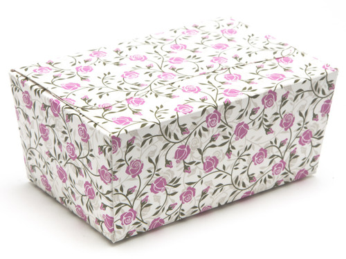 375g Rose Floral Ballotin Chocolate Box for Weddings, Parties, Mothers Day