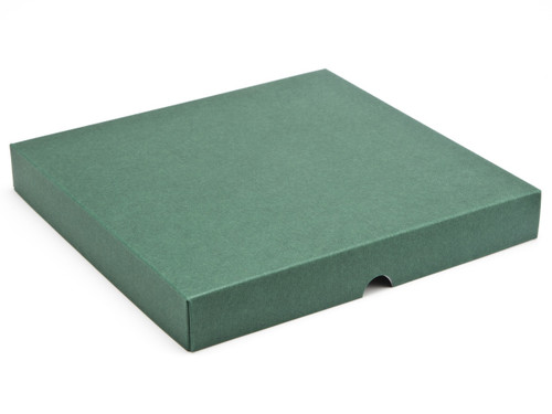 36 Choc Square Wibalin Lid - Green - [LID ONLY] | MeridianSP
