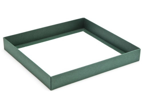 36 Choc Square Wibalin Base - Green - [BASE ONLY] | MeridianSP
