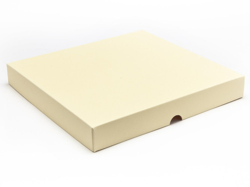 36 Choc Square Wibalin Lid - Cream - [LID ONLY] | MeridianSP