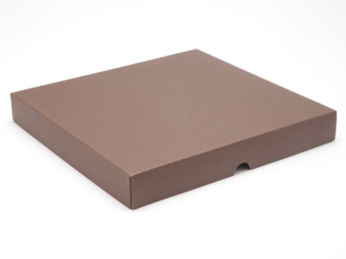 36 Choc Square Wibalin Lid - Brown - [LID ONLY] | MeridianSP