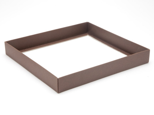 36 Choc Square Wibalin Base - Brown - [BASE ONLY] | MeridianSP