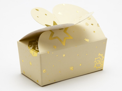 2 Choc Butterfly Ballotin - Trees and Presents | MeridianSP