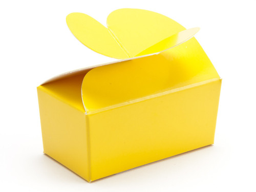 2 Choc Butterfly Ballotin - Sunshine Yellow | MeridianSP