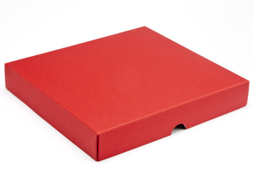 25 Choc Square Wibalin Lid - Red - [LID ONLY] | MeridianSP