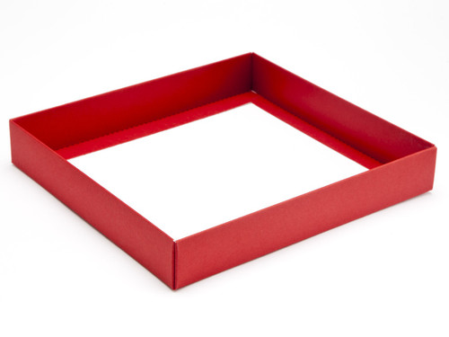 25 Choc Square Wibalin Base - Red - [BASE ONLY]   MeridianSP