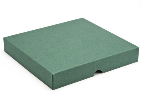 25 Choc Square Wibalin Lid - Green - [LID ONLY] | MeridianSP