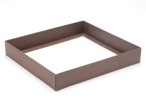 25 Choc Square Wibalin Base - Brown - [BASE ONLY]   MeridianSP