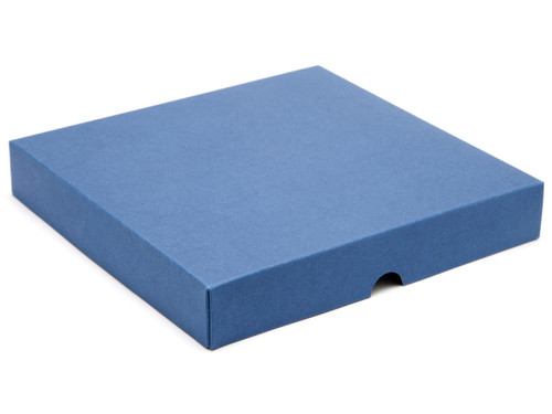 25 Choc Square Wibalin Lid - Blue - [LID ONLY] | MeridianSP