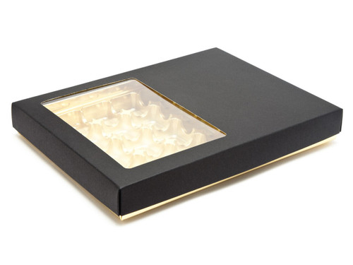 24 Deluxe Buffer Box with Window Lid