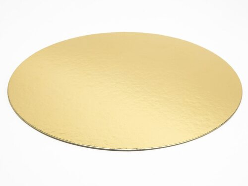 210mm Diameter Basecard - Cakeboard (Gold/Silver) | MeridianSP