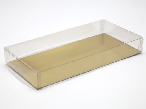 197x97x27mm Rectangular Base and Lid - Clear | MeridianSP