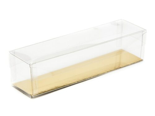 Clear Plastic Base and lid 180x45x45mm