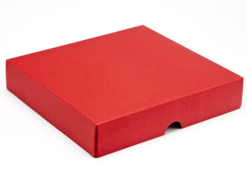 16 Choc Square Wibalin Lid - Red - [LID ONLY] | MeridianSP