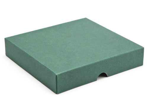 16 Choc Square Wibalin Lid - Green - [LID ONLY] | MeridianSP